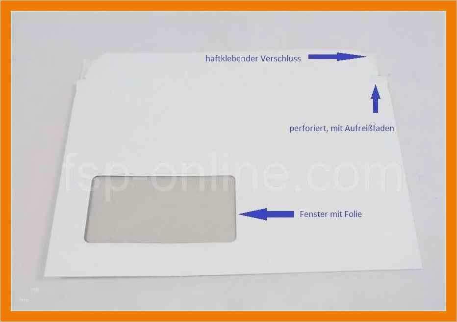 Briefumschlag Empfänger