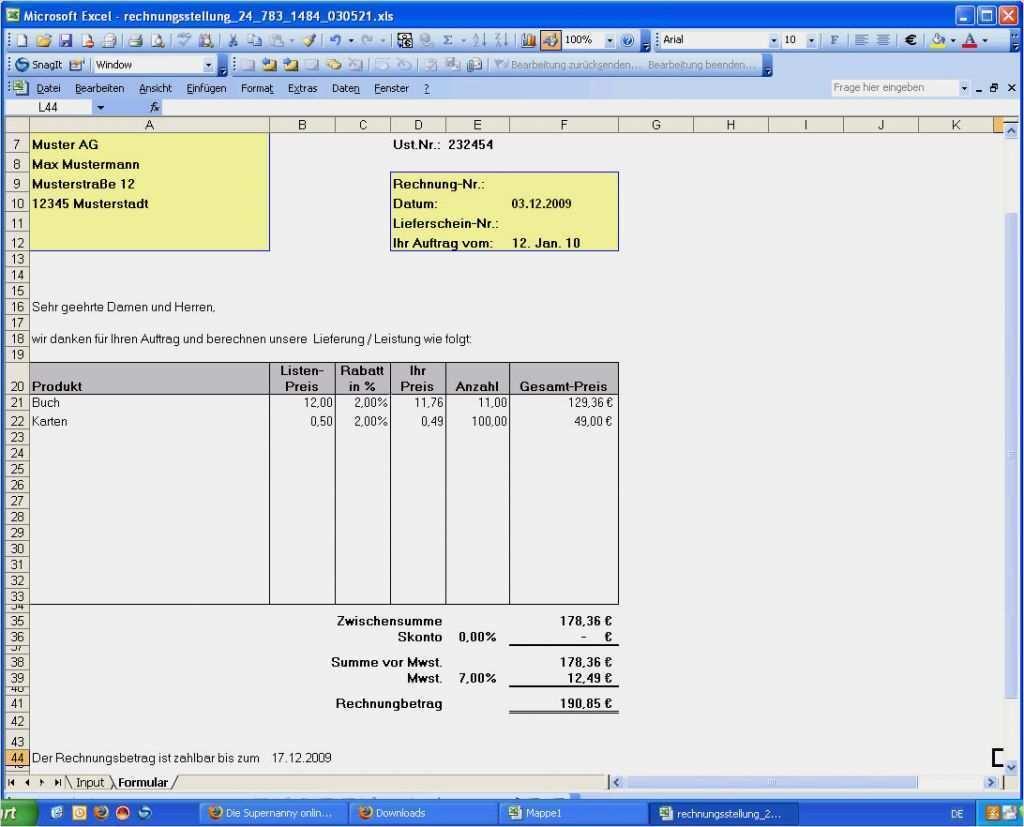 37 Angenehm Brutto Netto Rechner Excel Vorlage Bilder ...