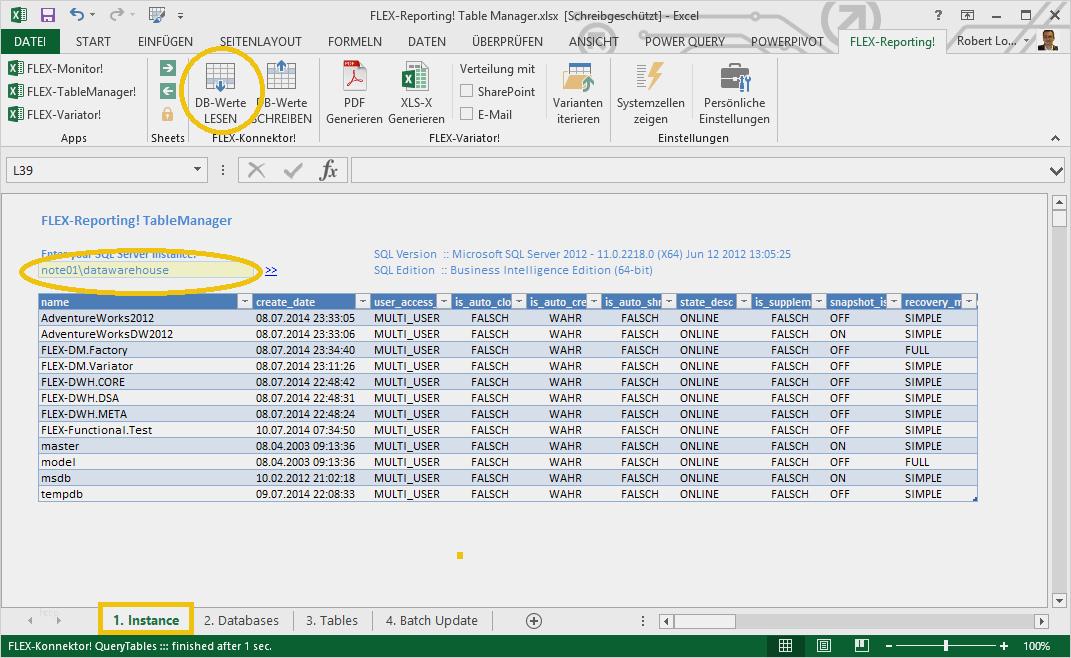 Excel Vorlage Datenbank Best Of Sql Tabellen Mit Flex ...