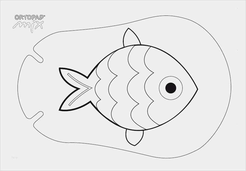 fisch vorlage zum ausschneiden angenehm fische malvorlagen