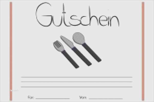 Gutschein Zum Essen Gehen Vorlage Elegant Essensgutschein ...