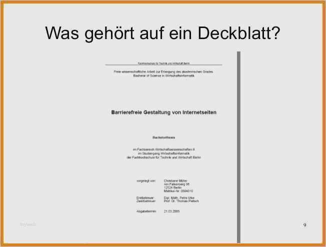 Hausarbeit Jura Vorlage Schönste Deckblatt Hausarbeit Vorlage Süß 9