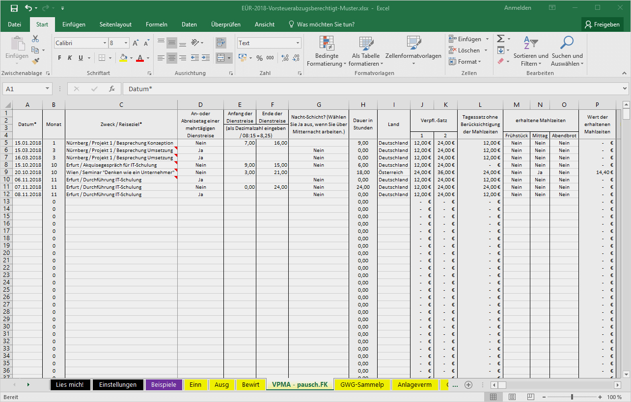 Steuererklärung Fahrtkosten Rechner