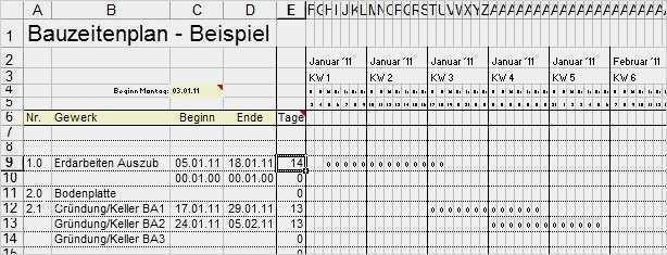 Projektplan Excel Kostenlose Vorlage Zum Downloaden 12