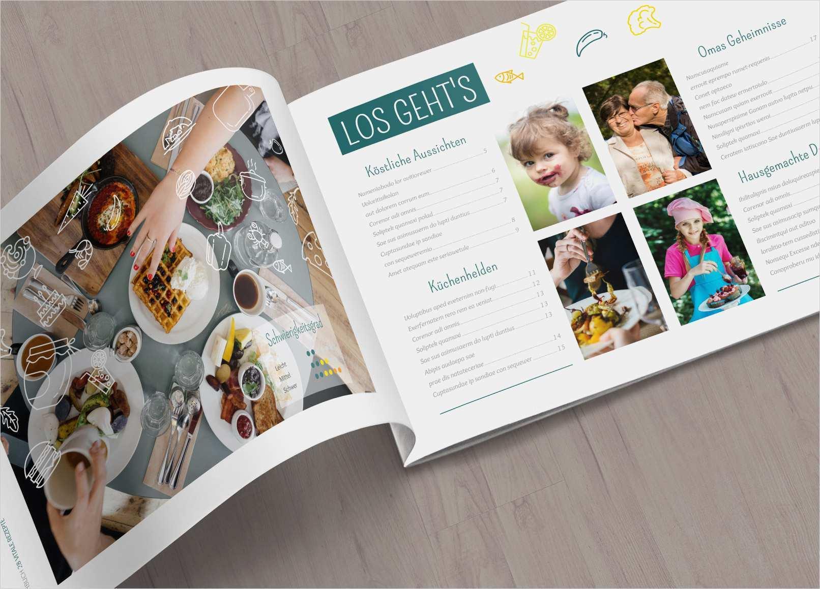 Eigenes Kochbuch