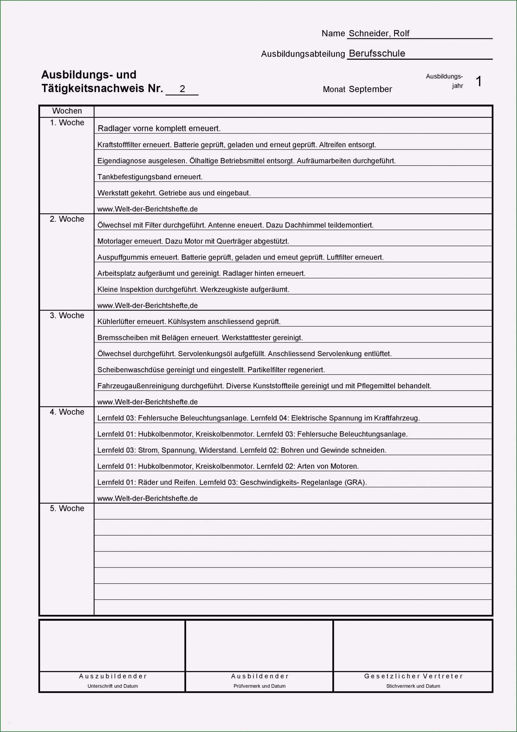 Berichtsheft Fachkraft Für Lagerlogistik Download