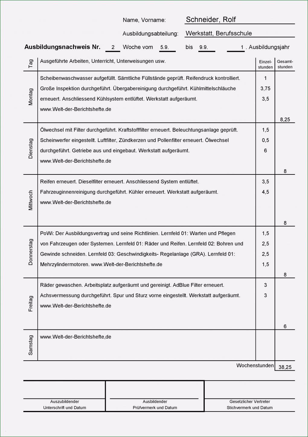Berichtsheft Fachkraft FГјr Lagerlogistik