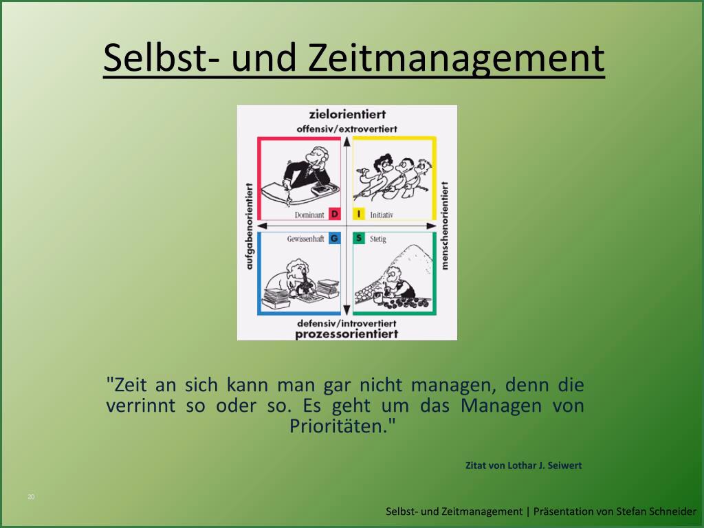 Powerpoint Präsentation über Sich Selbst Vorlage